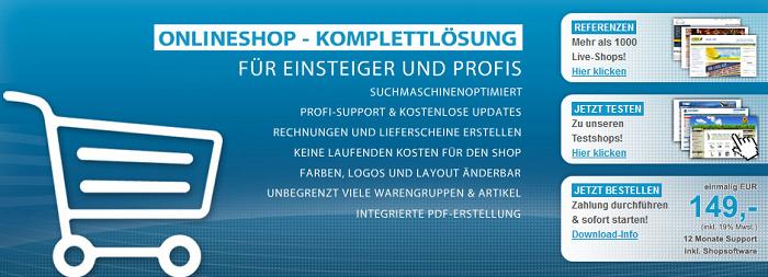 Gambio Shopsoftware für Euinsteiger und Profis